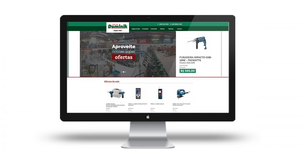 a64c6fe91 Loja Dominik lança novo site em parceria com a EquipeDigital.com
